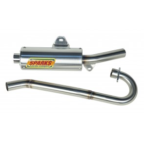 CURTIS SPARKS EXHAUST FOR RAPTOR 250 X6-0