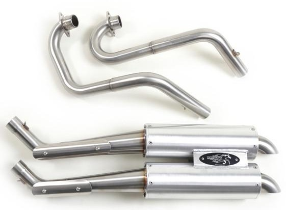 BARKERS EXHAUST FOR GRIZZLY 700/KODIAK 700 -346