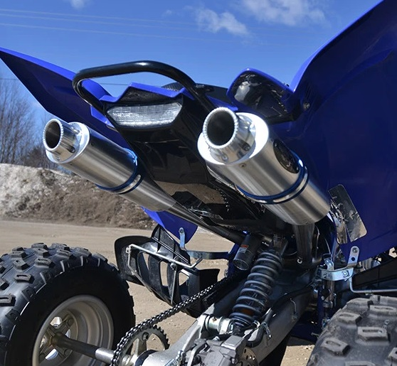 BARKERS EXHAUST FOR RAPTOR 700 (15 & UP) -651