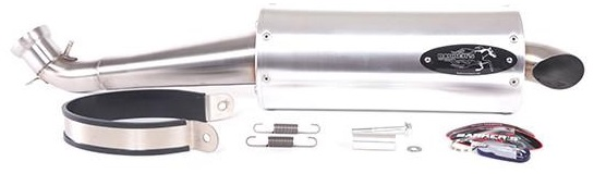 BARKERS EXHAUST FOR GRIZZLY 700/KODIAK 700 -753