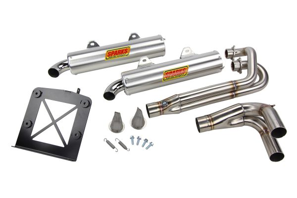 CURTIS SPARKS EXHAUST FOR RZR 900XP -0