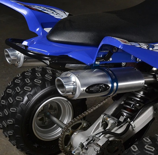 BARKERS EXHAUST FOR RAPTOR 700 (15 & UP) -653