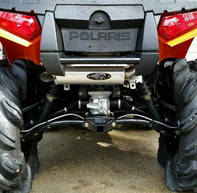 BARKERS EXHAUST FOR SPORTSMAN-437