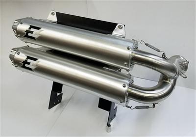 Maverick X3 turbo/X3 900 HO dual slip on exhaust